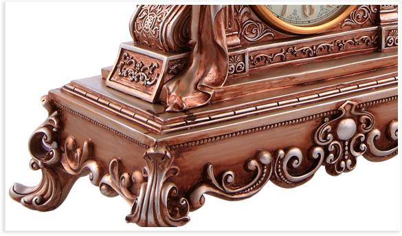 欧式风格创意树脂工艺钟, 维也纳人像时尚座钟