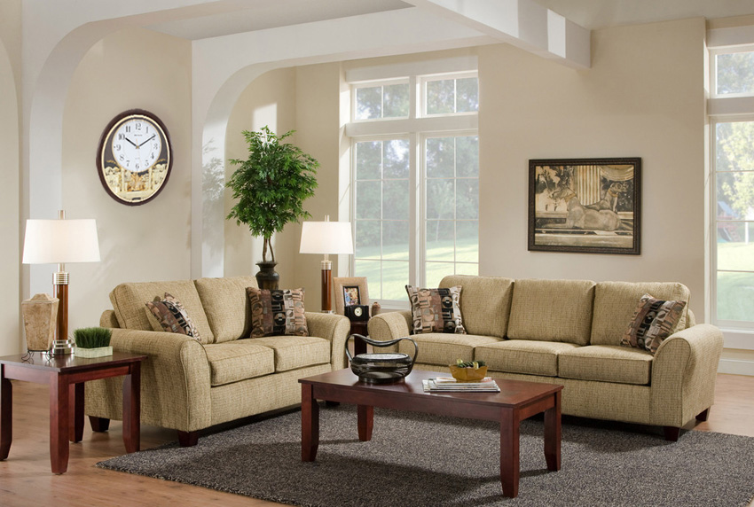 天园简欧式沙发